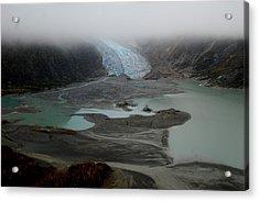 Glacier North Of Juneau Acrylic Print by Sarah King