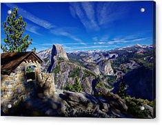 Glacier Point Yosemite National Park Acrylic Print
