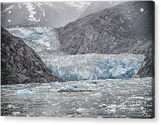 Acrylic Print featuring the photograph Glacier Tracy Arm Fjord by JRP Photography