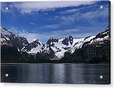 Glacier View Acrylic Print by Aimee L Maher Photography and Art Visit ALMGallerydotcom