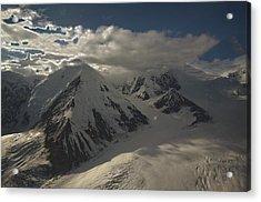Glaciers Galore Acrylic Print by David Kehrli