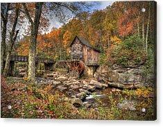 Glade Creek Gristmill Acrylic Print