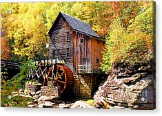 Glade Creek Mill West Virginia Acrylic Print