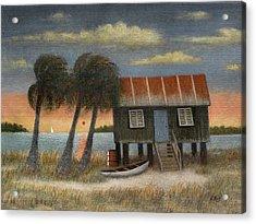 Glades Dweller Acrylic Print