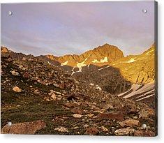 Gladstone Peak Acrylic Print by Aaron Spong