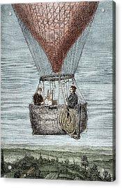 Glaisher-coxwell Balloon Flight Acrylic Print by Sheila Terry