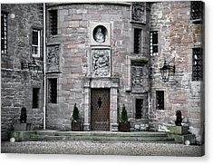 Glamis Castle. Doorway Acrylic Print by RicardMN Photography