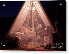 Glamping Acrylic Print by MAD Art and Circus
