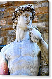 Glance At David Acrylic Print