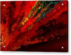 Glance Of Colors Acrylic Print