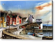 Glandore Village West Cork Acrylic Print
