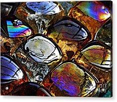 Glass Abstract 13 Acrylic Print by Sarah Loft