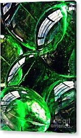 Glass Abstract 48 Acrylic Print by Sarah Loft