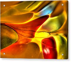 Glass And Light Acrylic Print