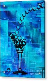 Glass Balls Acrylic Print by Mauro Celotti