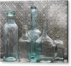 Glass Bottles 1 Acrylic Print