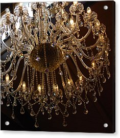 Glass Chandelier Acrylic Print