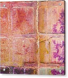 Glass Crossings 2 Acrylic Print by Carol Leigh