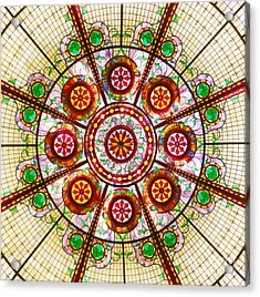 Acrylic Print featuring the photograph Glass Dome by Val Miller