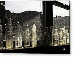 Glass In The Window  Acrylic Print