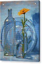 Glass Acrylic Print by Nancy Merkle