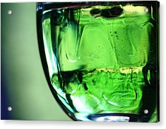 Glass Of Green Acrylic Print
