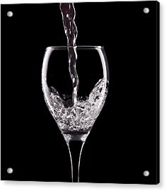 Glass Of Water Acrylic Print