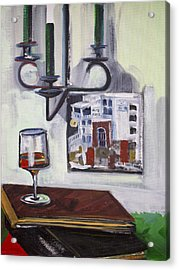 Glass Of Wine Acrylic Print