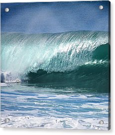 Glass Pipeline Acrylic Print by Kevin Smith