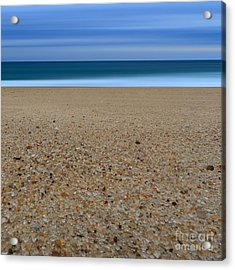 Glass Sand Acrylic Print by Katherine Gendreau
