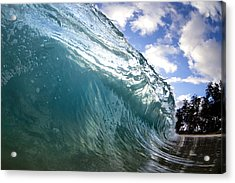 Glass Surge Acrylic Print by Sean Davey