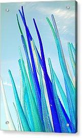 Glass Vs Sky Acrylic Print by Valentino Visentini