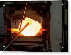 Glassblower's Furnace Acrylic Print