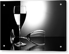 Glasses Acrylic Print by