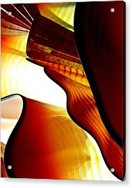 Glassware Abstract Acrylic Print