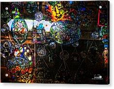 Glassy Colors Acrylic Print by Dan Quam