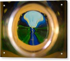 Glassy River Acrylic Print
