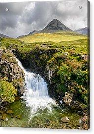 Glen Brittle Waterfall Acrylic Print