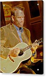 Glen Campbell Acrylic Print