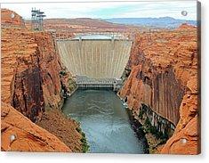 Glen Canyon Dam Acrylic Print by Bildagentur-online/mcphoto-schulz