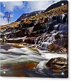 Acrylic Print featuring the photograph Glen Etive by Craig B