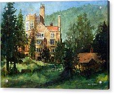 Glen Eyrie Sunrise Acrylic Print