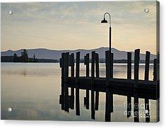 Glendale Docks No. 2 Acrylic Print by David Gordon