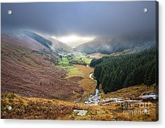 Glenmacnass 1 Acrylic Print by Michael David Murphy