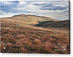 Glenmacnass 4 Acrylic Print by Michael David Murphy