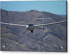 Glider, Warbirds Over Wanaka, Wanaka Acrylic Print by David Wall