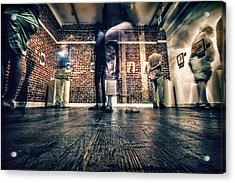 Acrylic Print featuring the photograph Glimpse by Joshua Minso