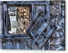 Glimpses Of Times Past Acrylic Print by Heiko Koehrer-Wagner