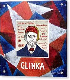 Glinka Acrylic Print by Paul Helm