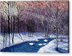 Glistening Branches Acrylic Print